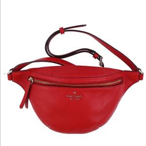 ♠️Kate Spade♠️ Hot Chili Jackson Belt Bag
